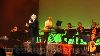 Franco Battiato, Stranizza D'Amuri, live at Barbican London