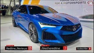 Acura Type S Concept – Redline: First Look – 2019 LA Auto Show