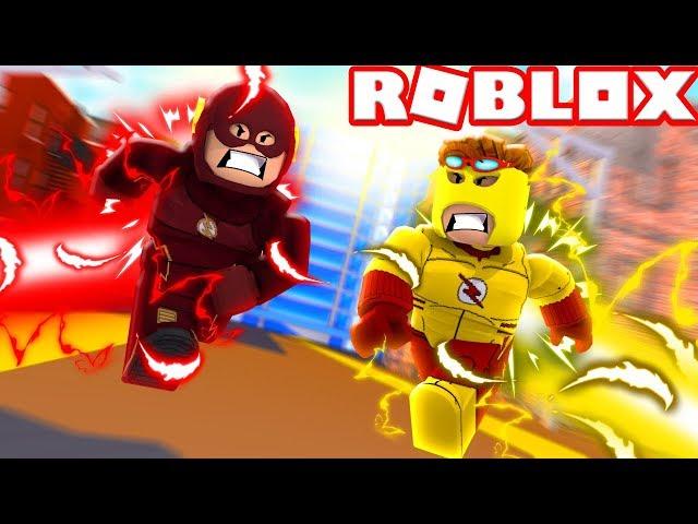 Roblox-flash-and-kid-flash