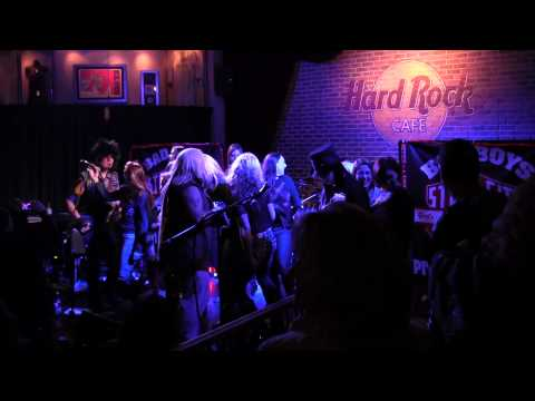 Girls Girls, Girls by Motley Crue cover by Steel City Crue @ Hard Rock Cafe 1-4-14