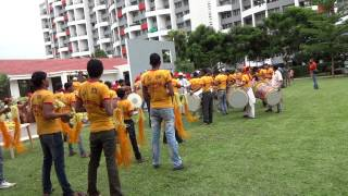 preview picture of video 'Kumar Park Infinia Dhol-Tasha'