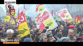 Manifestation nationale du 22 mars 2018