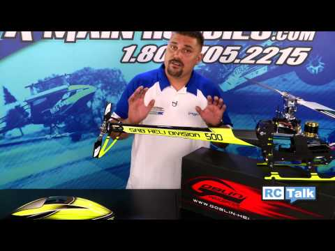 SAB's Goblin 500 Helicopter Review: AMain Hobbies' RC Talk