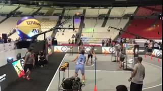 Кубок Мира 2018 по баскетболу 3х3 (Skills Contest) - Залина Куразова