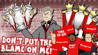 Download Video WENGER sings HUMAN! Don't Put The Blame On Him! (Wenger Out? Wenger Confronts Arsenal Fan TV) MP3 3GP MP4