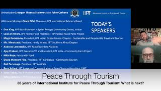 Peace Through Tourism: What is next