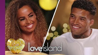 Amber And Michael Are Smitten During Their First Date | Love Island 2019