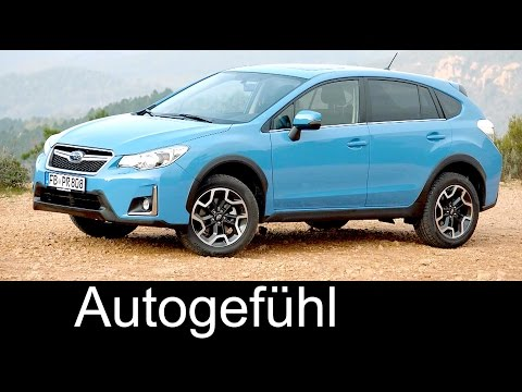 Subaru XV preview Exterior/Interior 2017/2016 - Autogefühl
