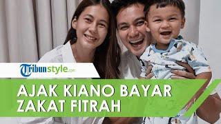 Jelang Lebaran, Paula Verhoeven Ajak Kiano Bayar Zakat Fitrah