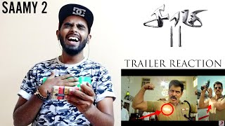 Saamy 2 Official Trailer Reaction & Review - Saamy Square Trailer   Chiyaan Vikram   Hari   DSP 🤗