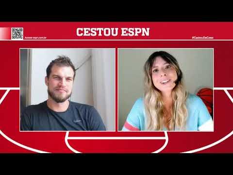 A TEMPORADA DA NBA ESTÁ VOLTANDO! Tiago Splitter e Alana Ambrosio contam TUDO   Cestou ESPN