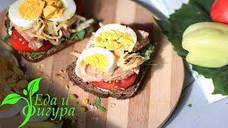 Вкусные блюда из яиц на завтрак от Еда и Фигура.