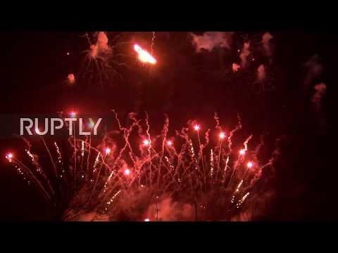 South Korea: Stunning firework display brings Pyeongchang Games to a close
