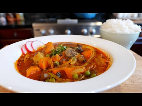 This Looks Good: Spicy Vegetable Soup Recipe