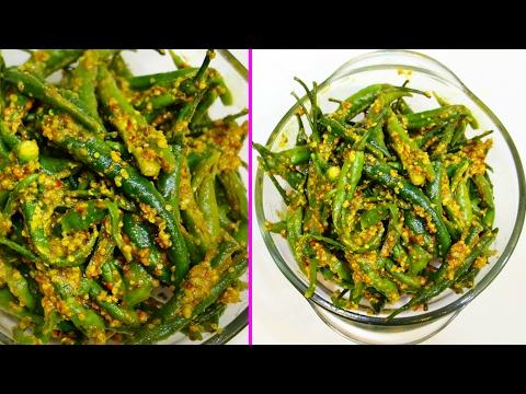 Hari Mirch ka Achaar  Instant Green Chilli Pickle | CookWithNisha