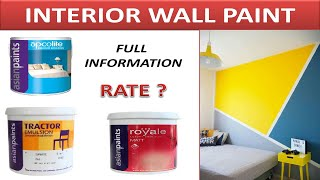 Best Interior Paints - Best Wall Paint for Interior - Interior Paint in Asian Paints