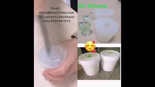 High Temperature Resistance Transparent Color Jewelry Mold Making rtv2 Liquid Addition Cure Silicone youtube video