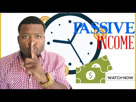 Easiest Way To Make Passive Income Online In 2018