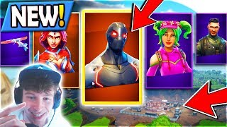 ALL *NEW* SEASON 4 Battle Pass SKINS + EVERYTHING about *NEW* DUSTY DIVOT in Fortnite: Battle Royale