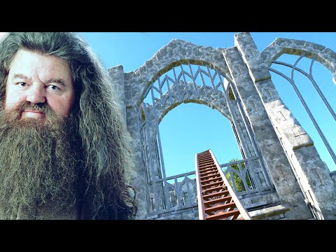 Hagrid's Magical Creatures Motorbike Adventure Ride RE-CREATION!  (POV/Front Seat) #PlanetCoaster