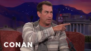 Rob Riggle Worked Out With The Seattle Seahawks  - CONAN on TBS - Video Youtube