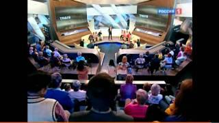 """Ранетки, Лена и Нюта в передаче """"Прямой эфир"""" (19.05.2011)"""