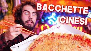 Si può mangiare con le BACCHETTE CINESI?