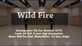 Wild Fire (Ria Vos)  Line Dance