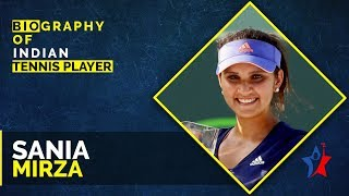 Sania Mirza Biography | Indian professional tennis player  IMAGES, GIF, ANIMATED GIF, WALLPAPER, STICKER FOR WHATSAPP & FACEBOOK