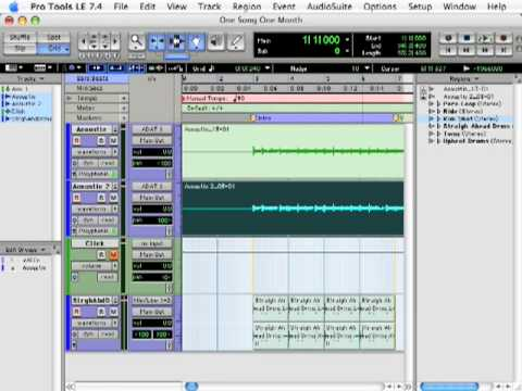 One Song One Month Challenge: Drum Loops – TheRecordingRevolution.com