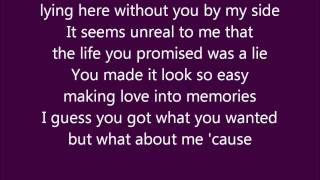 Dixie Chicks- Without You Lyrical Video