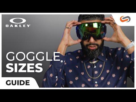 Oakley Goggle Size Guide