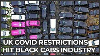 Coronavirus leaves London's black cabs in 'taxi graveyards'