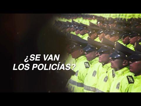 ¿Se van los policias?