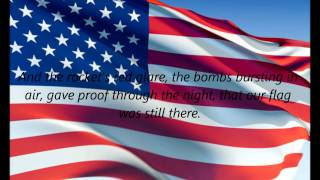 "American National Anthem - ""The Star Spangled Banner"" (EN)"