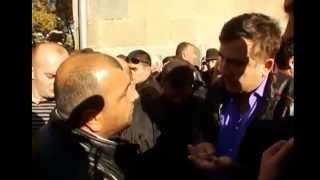 Саакашвили заткнул арменина