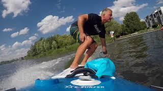 Electric Surfboard in Berlin City