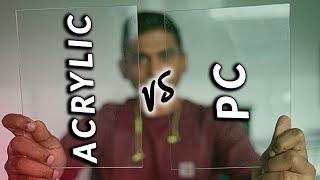 Acrylic vs Polycarbonate (aka Lexan vs Plexiglas)