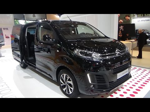 2017 Citroen Spacetourer - Exterior and Interior - IAA Hannover 2017