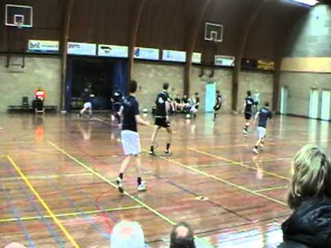 Zaalvoetbal - Cantina La Bamba / All 4 Fit tegen Herders