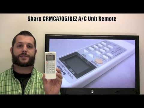 Buy Sharp Crmc A705jbez Crmca705jbez Air Conditioner Unit Remote Control