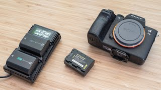 Nitecore USN4 PRO Charger + NFZ100 Smart Battery for Sony A7III | A7R III | A7R IV