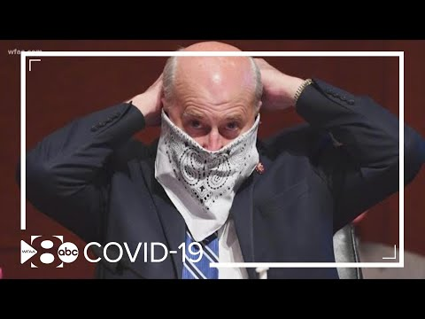 Texas congressman tests positive for COVID-19 after inconsistently wearing a mask
