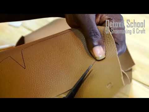 Basic shoemaking culting tips (online shoemaking & craft course 12)