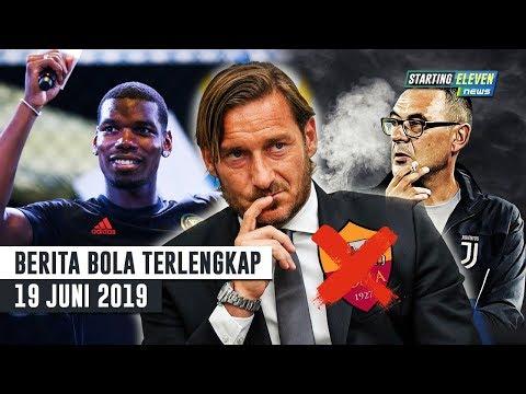 RESMI Totti Out dari Roma 😭 Sarri Minta 2 Pemain Ini 🔥 Tawaran MU ke Pogba -Berita Bola Terlengkap