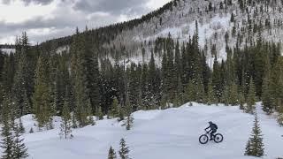 Winter Riding Turk's Trail