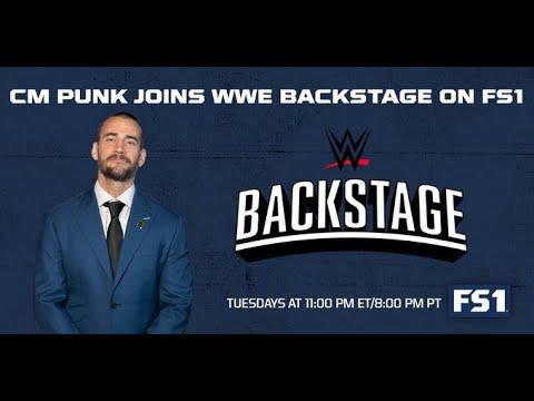 CM Punk Appears On WWE Backstage