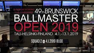 Brunswick Ballmaster Open 2019 - squad 2