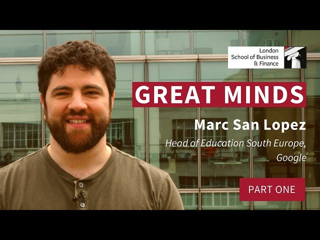 Marc San Lopez - Focus on Skills and Learning