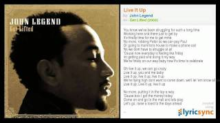 John Legend - Live It Up